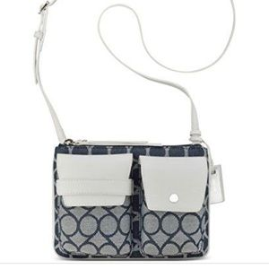 Nine West signature Jacquard crossbody